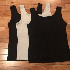 White tank only